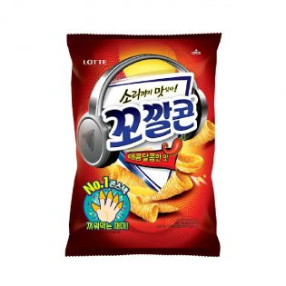 Kkokkal Corn Sweet and Spicy 72g