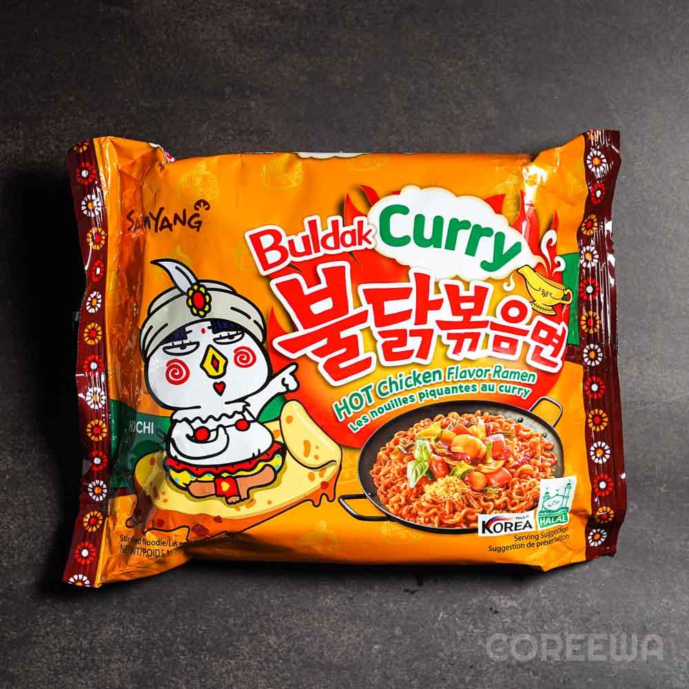 Hot Chicken Flavor Ramyun Curry 140g