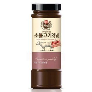 Sauce Bulgogi - Boeuf 500g