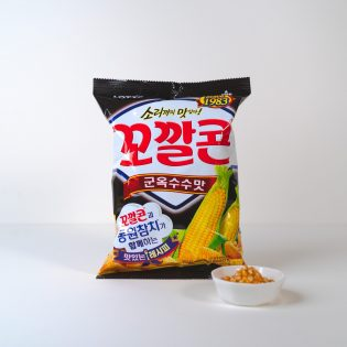 Kkokkal Corn Maïs Grillé 72g