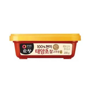 Pâte de piment Riz Brun Gold 200g