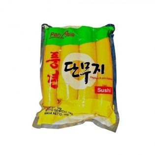 Pickled Yellow Radish Whole 1kg